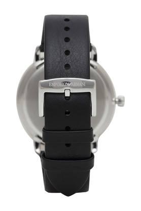 Mens Black Dial Analogue Watch with Bracelet - AR80026