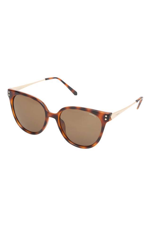 Womens Polarized Lens Cat Eye Sunglasses - PLD4047SR8VIG