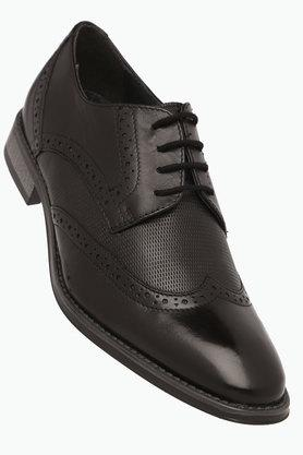 VENTURINI Mens Leather Lace Up Derbys - 203021420_9212