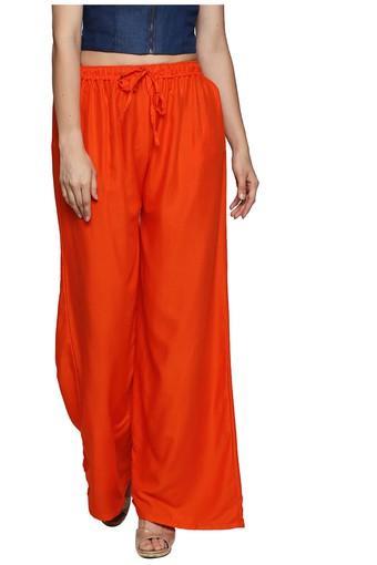ISHIN -  OrangePalazzos & Jumpsuits - Main