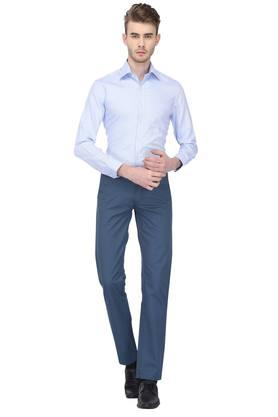 Mens Classic Fit Solid Formal Shirt
