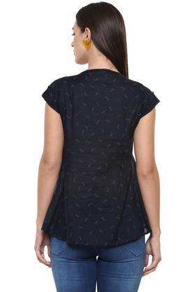 Womens Round Neck Camouflage Sweatshirt