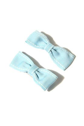 Girls Striped Bow Hair Clips