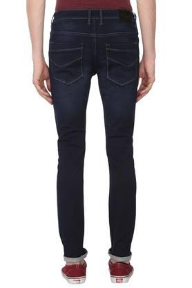 Mens Extra Slim Fit 5 Pocket Mild Wash Jeans