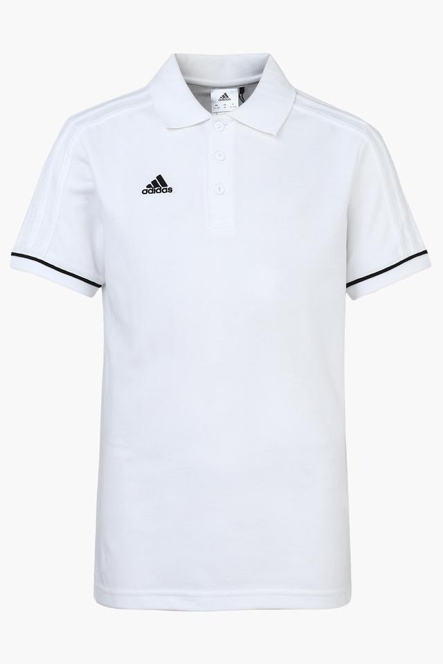Boys Solid Polo T-Shirt