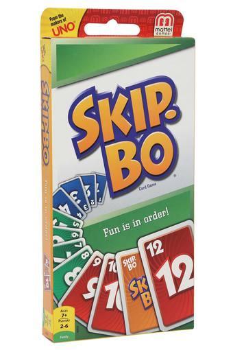 Unisex Skip Bo Card Game