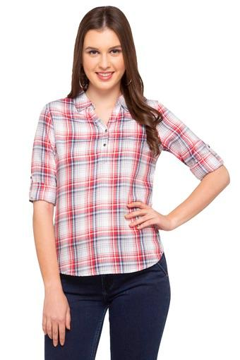 Womens Checked Top
