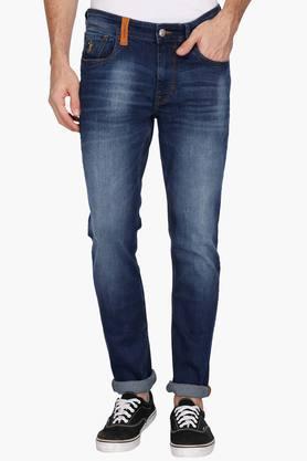 U.S. POLO ASSN. DENIMMens Slim Fit Heavy Wash Jeans (Brandon Fit) - 202915511