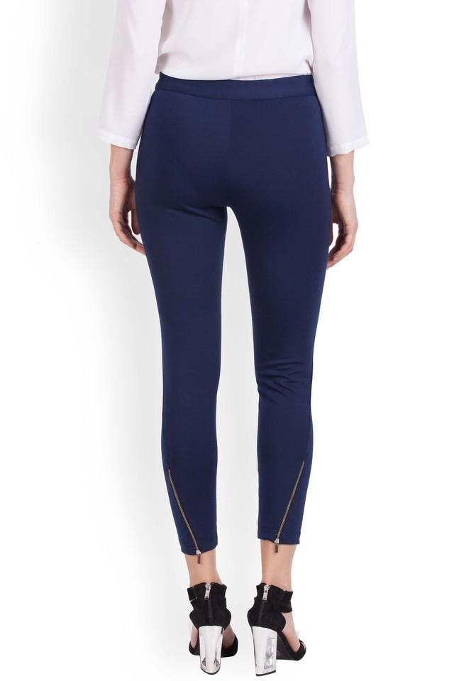 Womens Solid Trousers