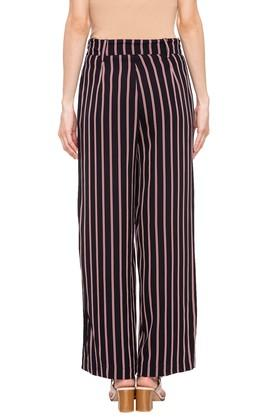 Womens 2 Pocket Stripe Pants