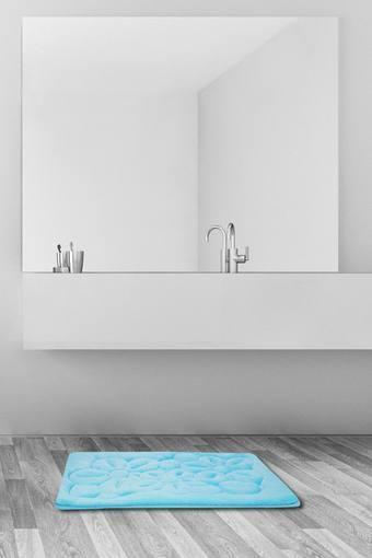 Printed Tufted Bath Mat