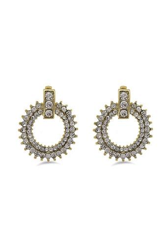 Womens Gold Plated Studded Earrings