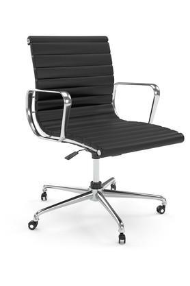 Black Chaise Office Chair