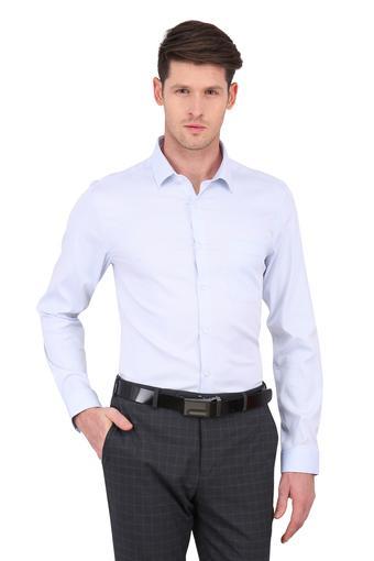 LOUIS PHILIPPE -  Light BlueFormal Shirts - Main