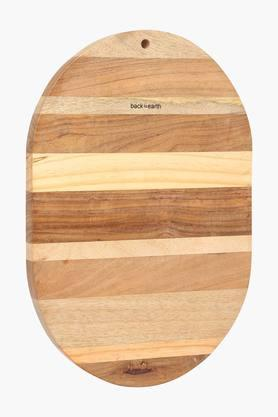 Oval Wooden Chopping Board