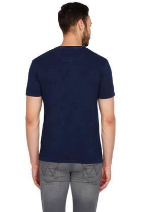 Mens Round Neck Graphic T-Shirt