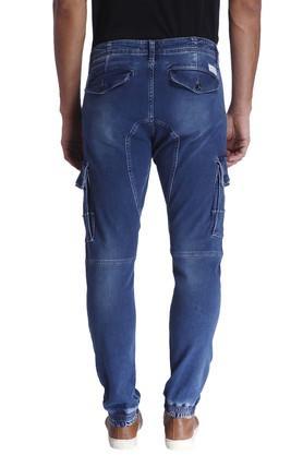 Mens 7 Pocket Heavy Wash Joggers