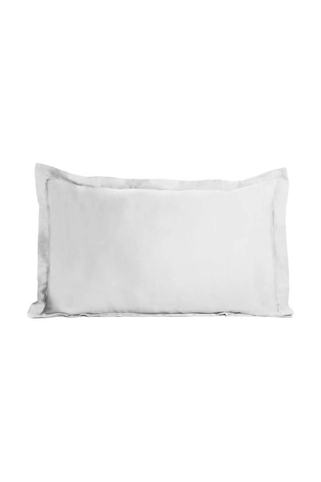 Colorart Cotton Satin Solid Pillow Cover - Set Of 2