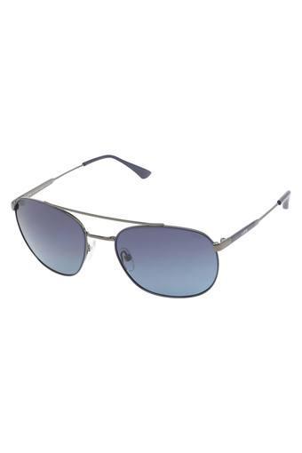 Unisex Full Rim Navigator Sunglasses - LI125C24