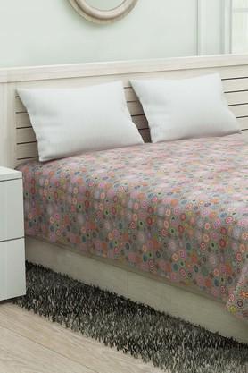 IVYDouble Bed Floral Reversible Quilt