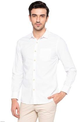 LIFE - White Casual Shirts - Main
