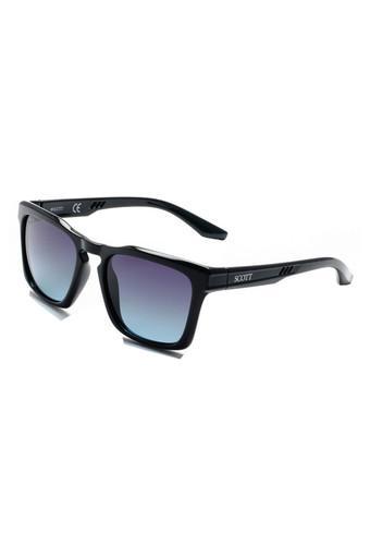 Mens Full Rim Square Sunglasses - 2184 C1 S