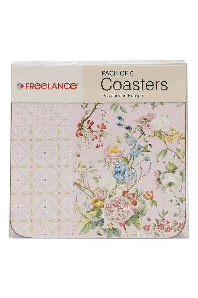 Printed Square Coaster Pack of 6