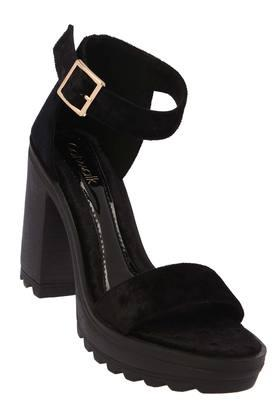 CATWALK Womens Party Wear Buckle Closure Heels