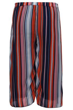 Girls Striped Culottes