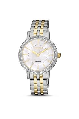 Womens Mother Of Pearl Dial Analogue Watch