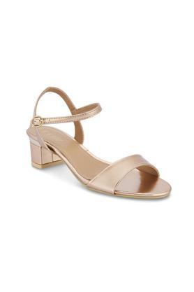 CERIZWomens Casual Wear Buckle Closure Heeled Sandals - 204864170_9106