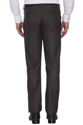 Mens 4 Pocket Solid Formal Trousers (Regalia)
