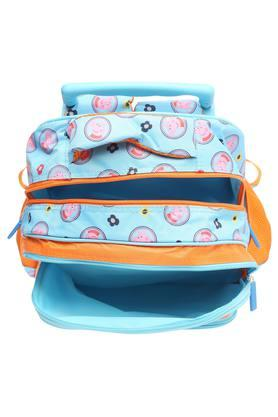 Kids Peppa Pig 3 Compartment Zip Closure School Bag