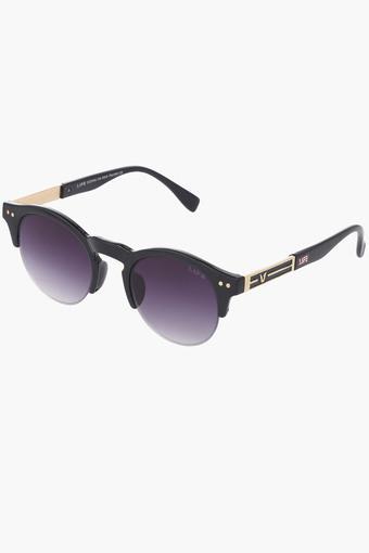 Unisex Non Polarized Round Sunglasses LIO48C10