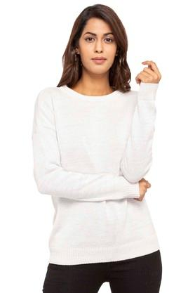 LEVIS Womens Round Neck Knitted Sweater