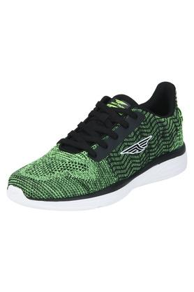 ATHLEISURE Mens Mesh Lace Up Sports Shoes - 203578094_9463