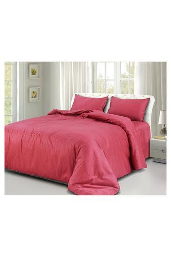 SPREAD -  Red Bed Sheets - Main