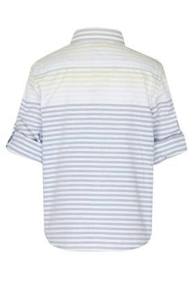 Boys Collared Stripe Shirt