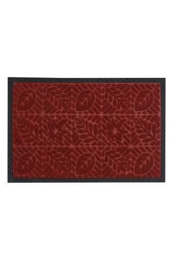 Rectangular Slub Textured Doormat