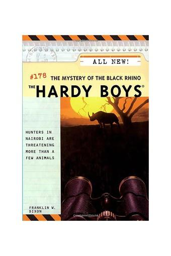 Mystery of the Black Rhino (Hardy Boys)