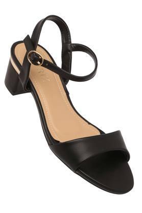 CERIZWomens Casual Wear Buckle Closure Heeled Sandals - 204864169_9212