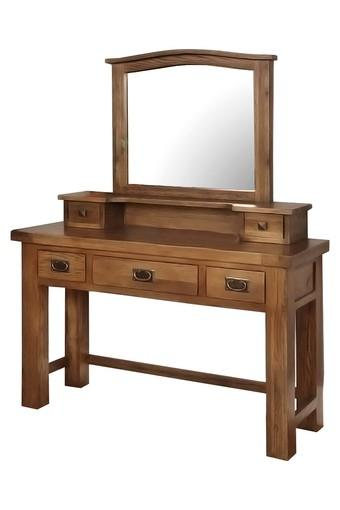 Brown Daisy Dressing Table