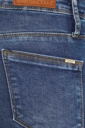 Womens 5 Pocket Mild Wash Capris
