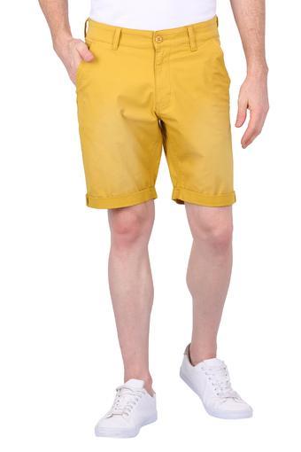 Mens 5 Pocket Solid Shorts