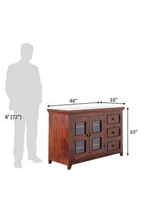 Brown Martin TV Cabinet Unit