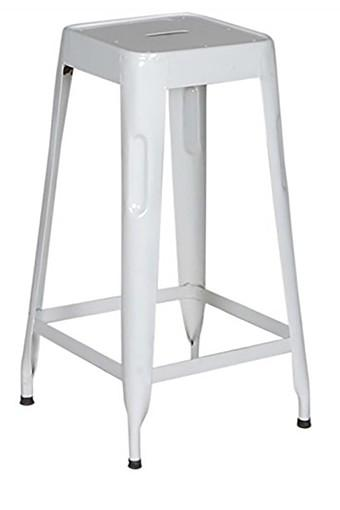 White Stylo Bar Stool