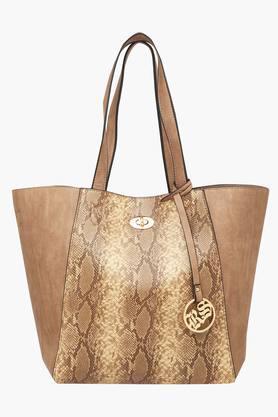 RS BY ROCKY STARWomens Zipper Closure Satchel Handbag - 203346269