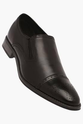 VENTURINI Mens Leather Slipon Loafers - 203021423