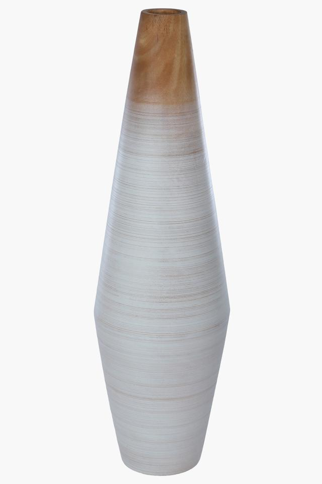 Ombre Wooden Conical Vase - 50.8 cm