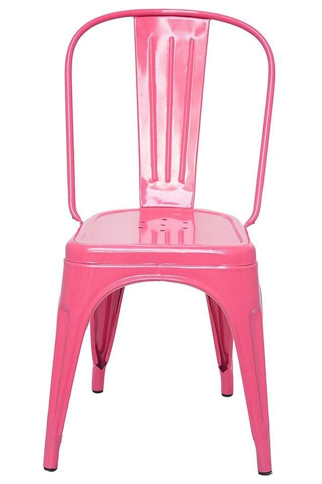 Pink Stylo Chairs Set of 2
